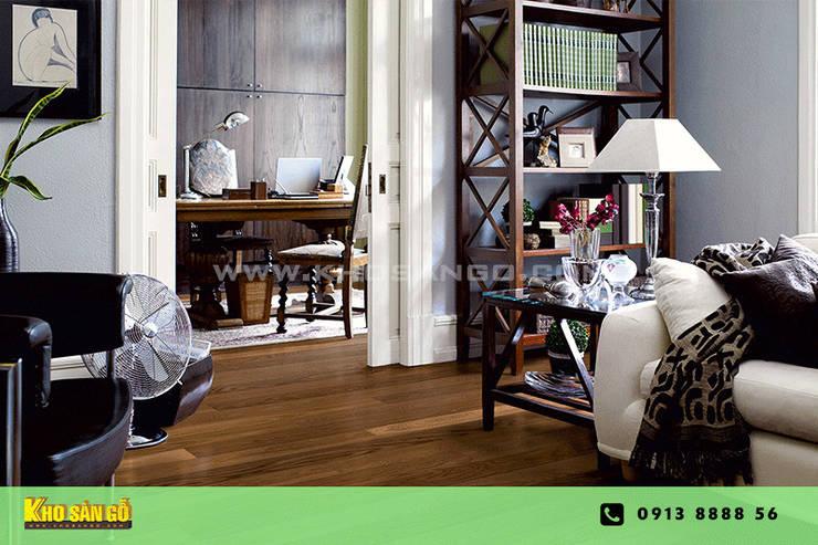 Các mẫu sàn gỗ:  Phòng khách by Kho Sàn Gỗ