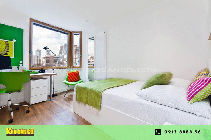 Các mẫu sàn gỗ:  Phòng ngủ by Kho Sàn Gỗ