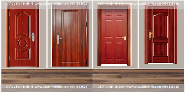 cửa thép chống cháy vân gỗ:   by Vĩnh Thịnh