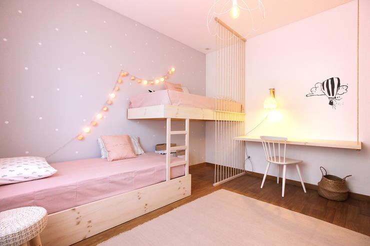 Kamar Bayi & Anak oleh Homestories, Skandinavia