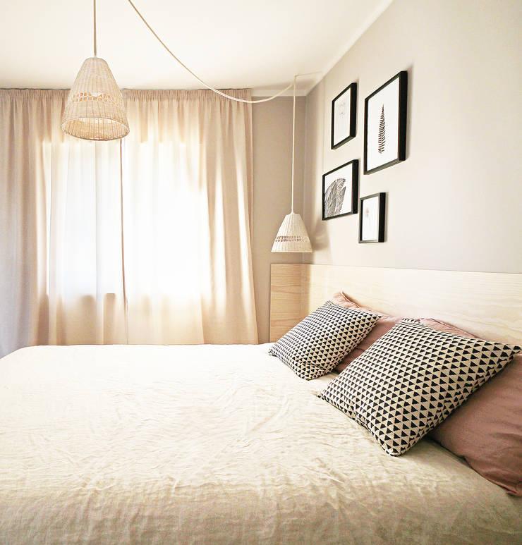 Scandinavian style bedroom by Homestories Scandinavian