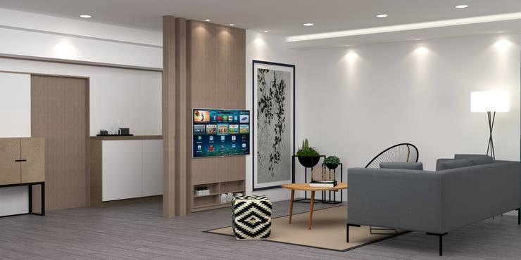 住宅空間規劃:   by 城藝室內裝修企業有限公司