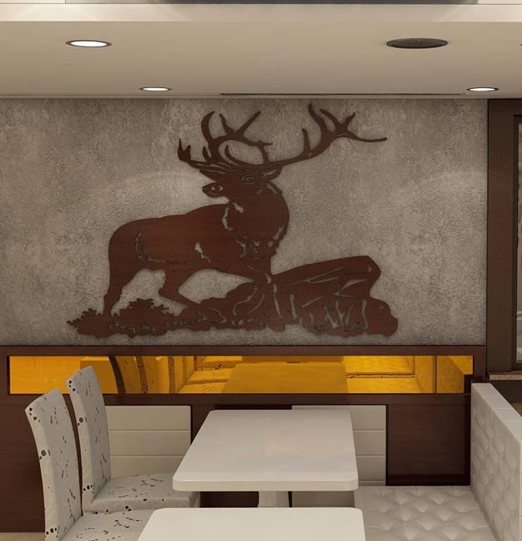 Hotel Golden Tree:  Gastronomy by Incense interior exterior pvt Ltd. ,Modern