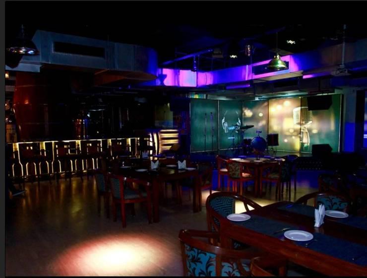 飯店 by Incense interior exterior pvt Ltd. , 現代風