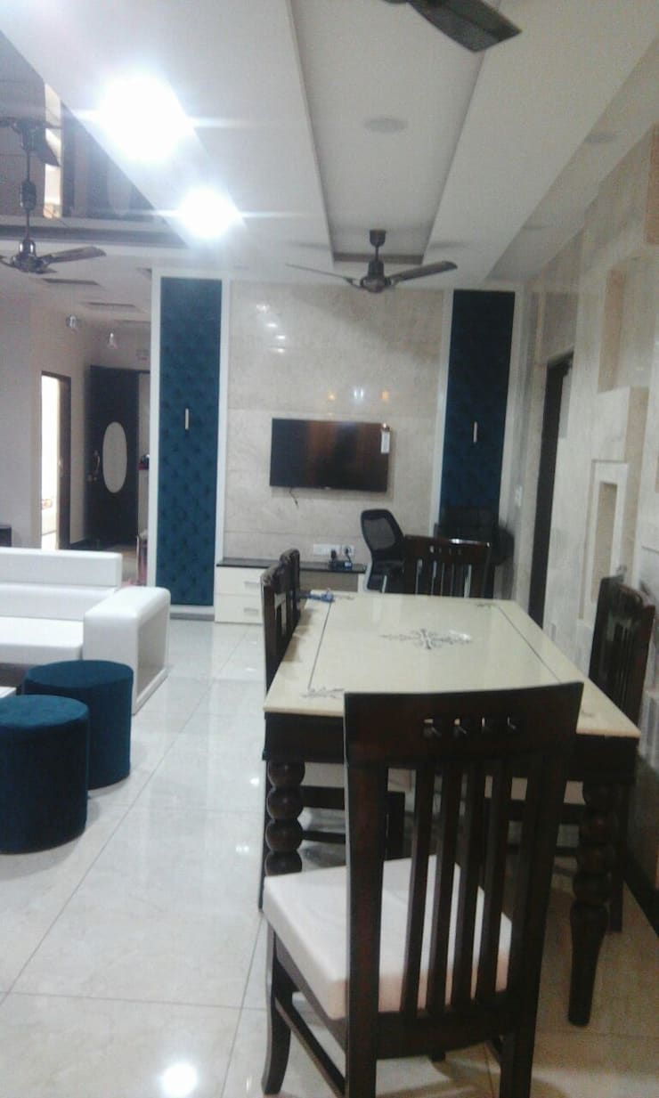 Mr. Sanjay Prajapati: modern  by Incense interior exterior pvt Ltd. ,Modern