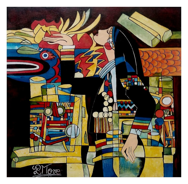 Desire 1:  Artwork by Indian Art Ideas,