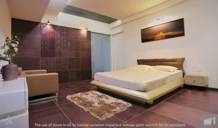 parent's room: modern Bedroom by Design Paradigm