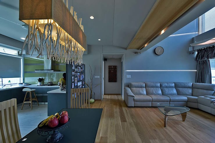 living area:  Living room by Design Paradigm