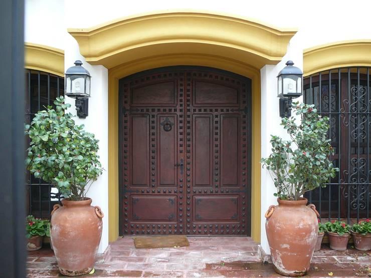 Front doors by Estudio Dillon Terzaghi Arquitectura - Pilar