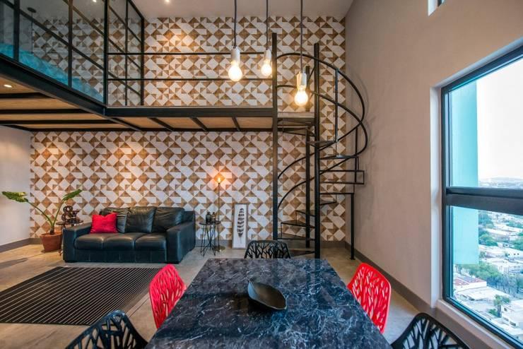 Ruang Keluarga oleh ESTUDIO TANGUMA, Modern Bambu Green