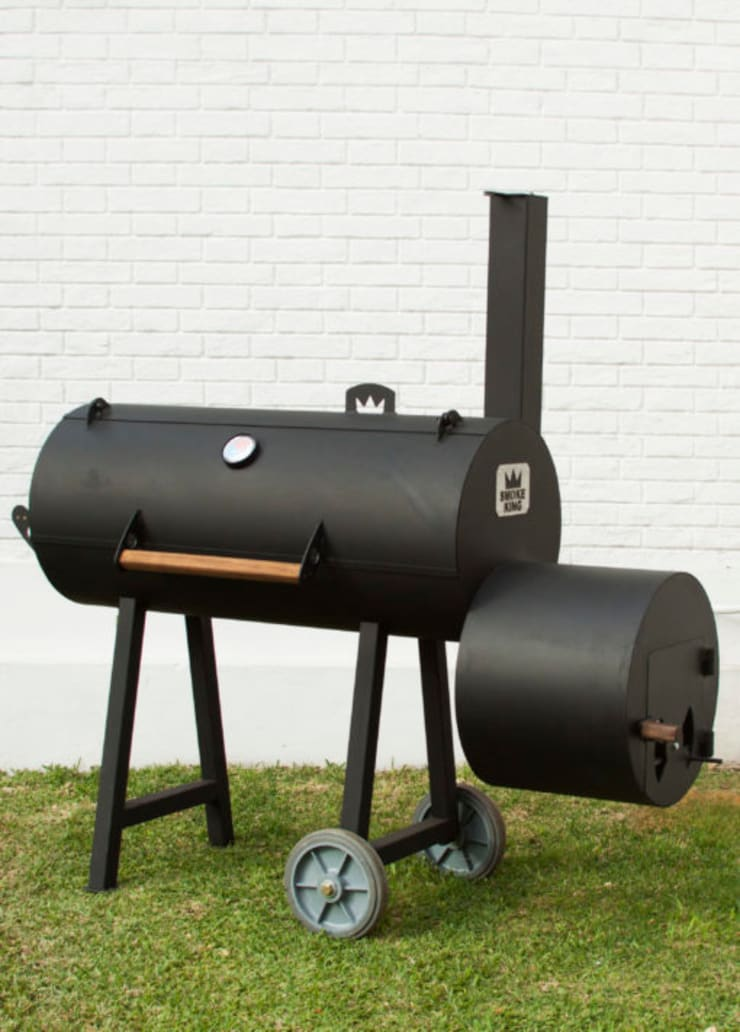 Ahumadora para el Hogar (Home Smoker): Hogar de estilo  por Smoke King Ahumadoras