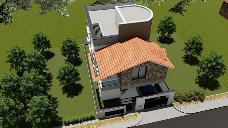 Biradar Residence: classic  by Cfolios Design And Construction Solutions Pvt Ltd,Classic
