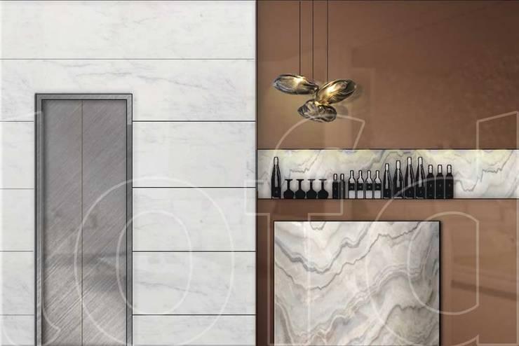 VA Residence:  Wine cellar by Language of Design,Modern