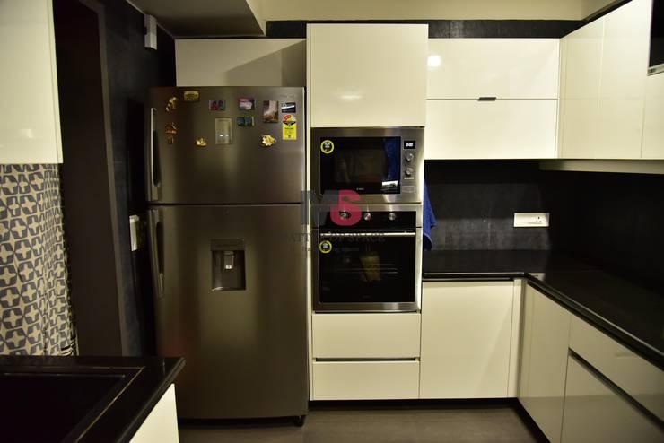Interior: modern Kitchen by Matter Of Space Pvt. Ltd.