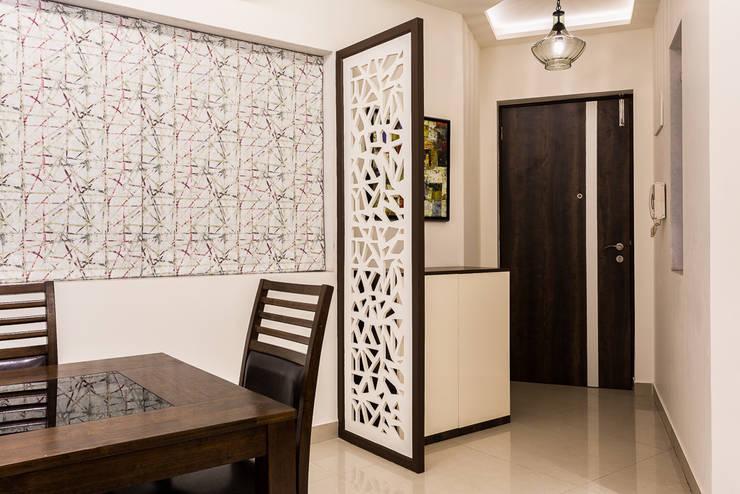 kandivili residence: modern Living room by Rennovate Home Solutions pvt ltd