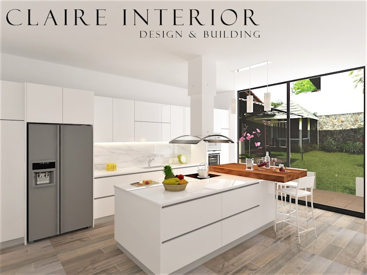 Kitchen Set Modern Minimalist By Claire Interior Design Building