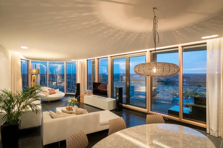 Penthouse:  Woonkamer door B-TOO