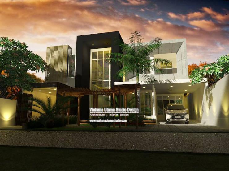 Desain Rumah Bapak Muhamad Syaihun Di Jakarta:   by Wahana Utama Studio