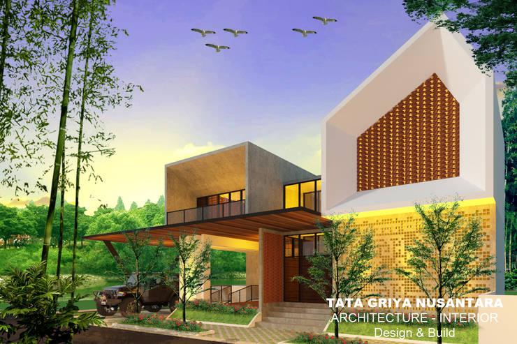 Rumah tinggal Bp. Sam:   by Tata Griya Nusantara