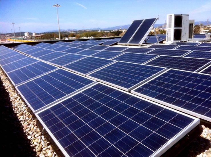 Energía Solar:  de estilo  por Zsystem