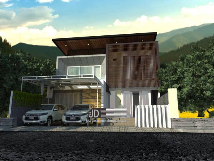 Desain Rumah Bapak Ace Endun Suwarta Di Jakarta:   by Wahana Utama Studio
