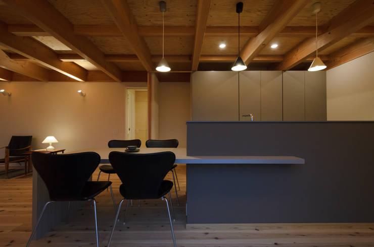 Scandinavian style kitchen by 風景のある家.LLC Scandinavian Wood Wood effect