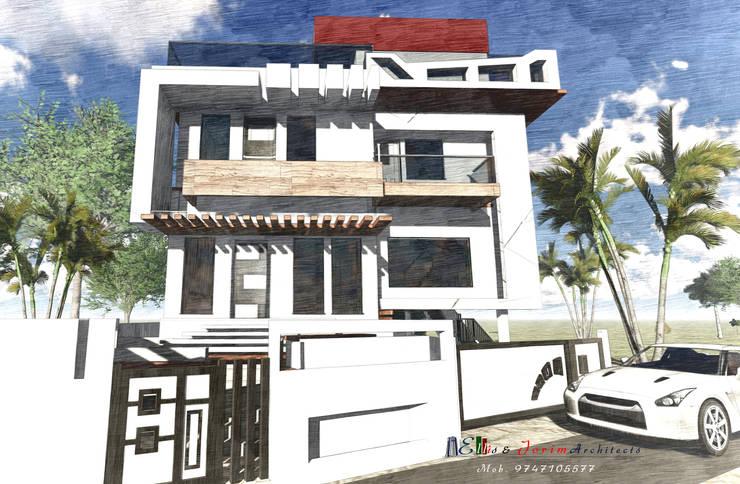 Residential villas:  Houses by Ellis & Jorim Architects,