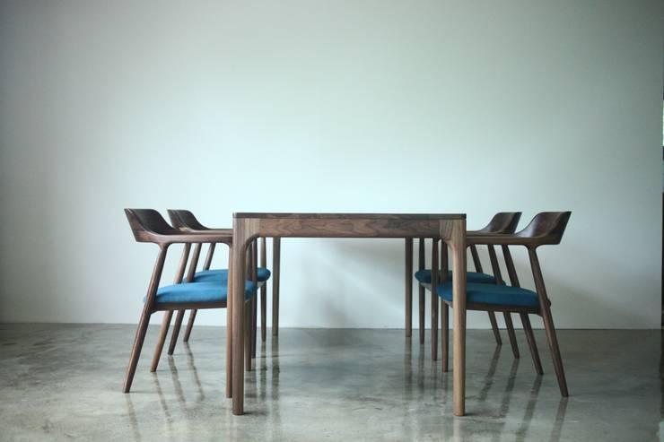 아날로그퍼니처: analog furniture의  다이닝 룸