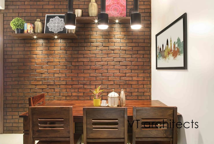Lodha Project: modern Dining room by VT architects