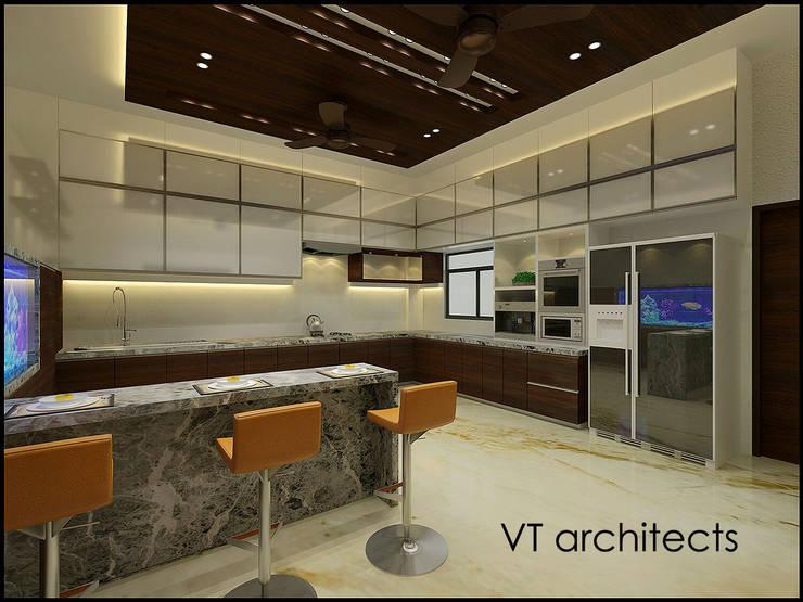 Villa Project:  Kitchen by VT architects