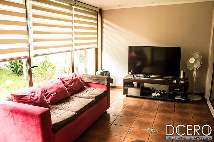 Casa habitacion Cerrillo 114m2: Terrazas  de estilo  por Dcero Arquitectura