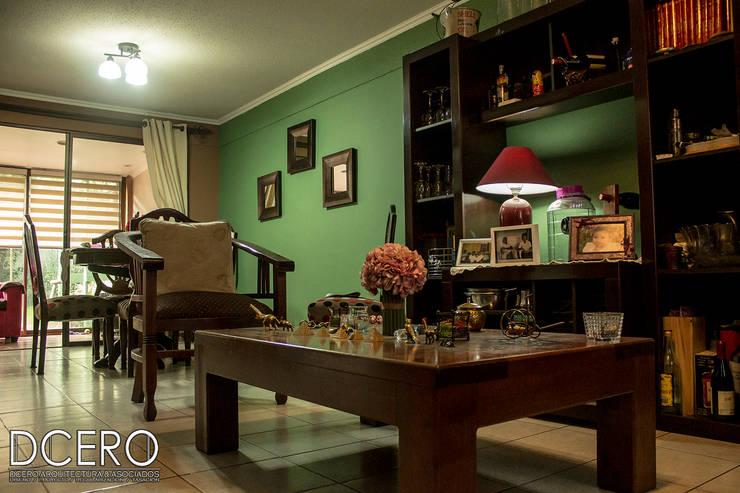 Casa habitacion Cerrillo 114m2: Comedores de estilo  por Dcero Arquitectura