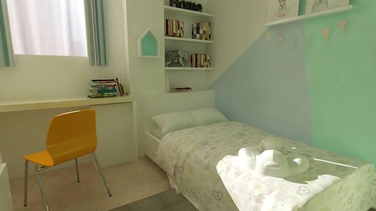 Kids Bedroom:   by SARAÈ Interior Design