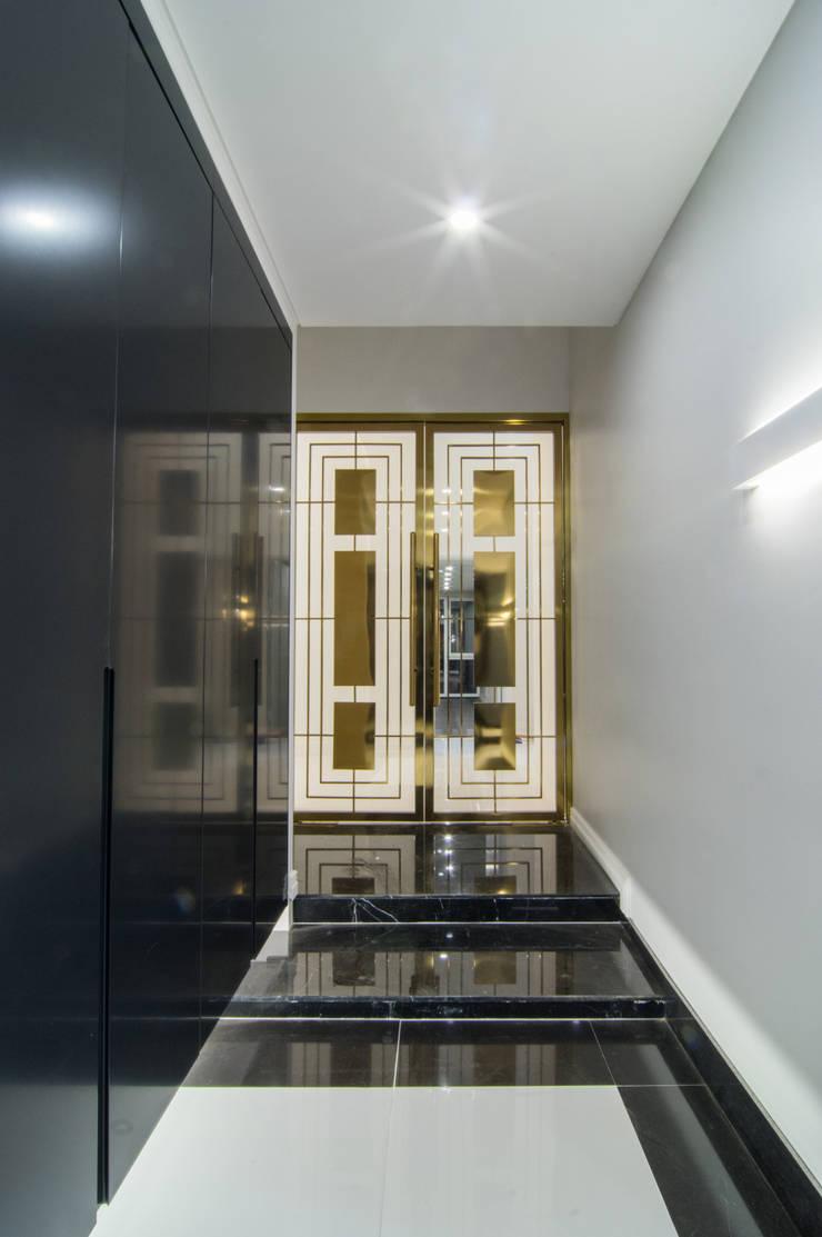 대전 삼정빌리지: 캐러멜라운지의  복도 & 현관,