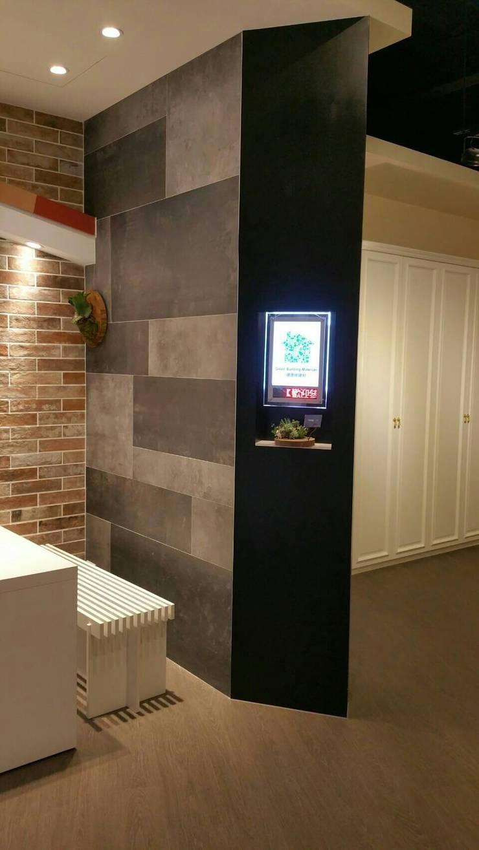 牆面:  牆壁與地板 by 龐比度空間規劃