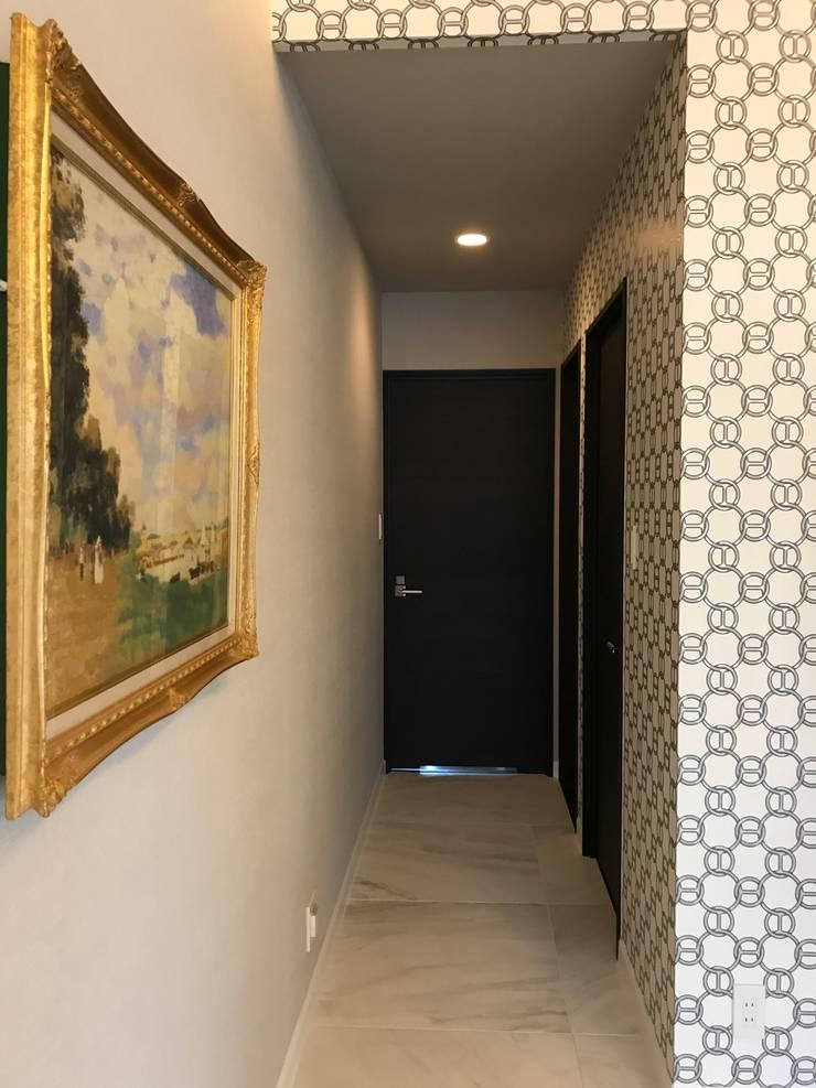 廊下: 株式会社井蛙コレクションズが手掛けた廊下 & 玄関です。