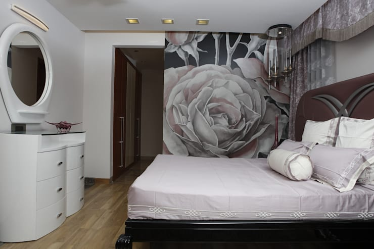 Girls room:  Bedroom by QBOID DESIGN HOUSE,Asian