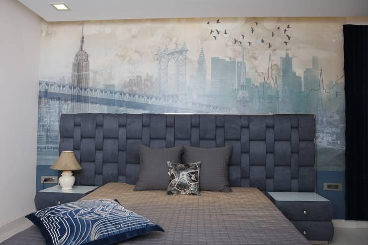 Boys room:  Bedroom by QBOID DESIGN HOUSE,Asian
