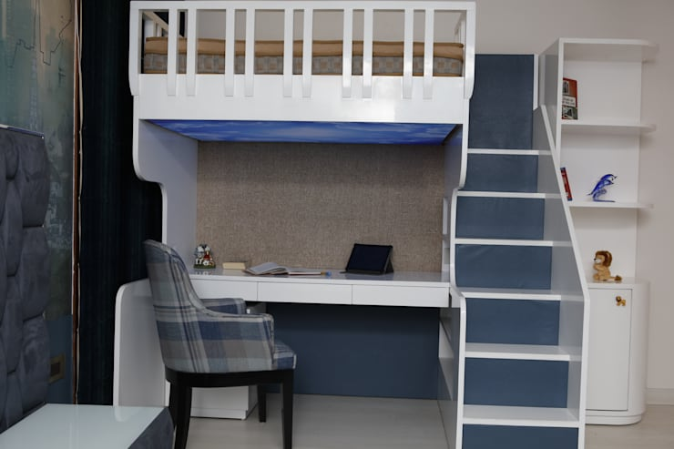 Bunk Bed: asian  by QBOID DESIGN HOUSE,Asian