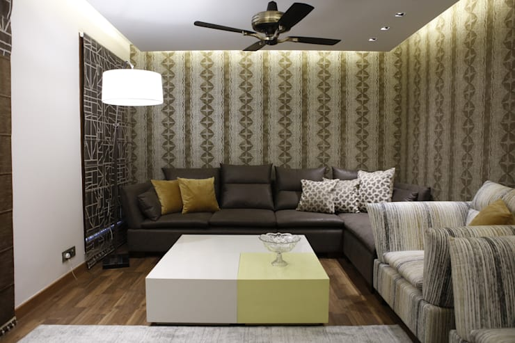 RESIDENTIAL:  Bedroom by QBOID DESIGN HOUSE,Asian