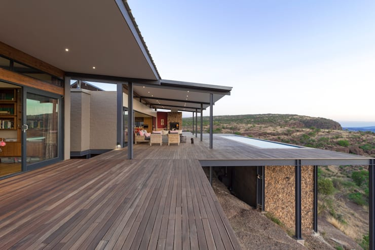 Deck:  Houses by Hugo Hamity Architects