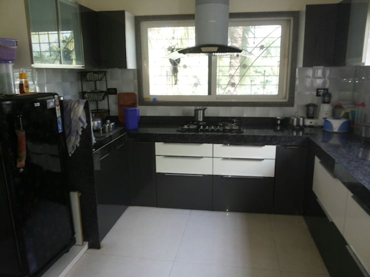 RESIDENTIAL PROJECT:  Kitchen by R.S Interiors