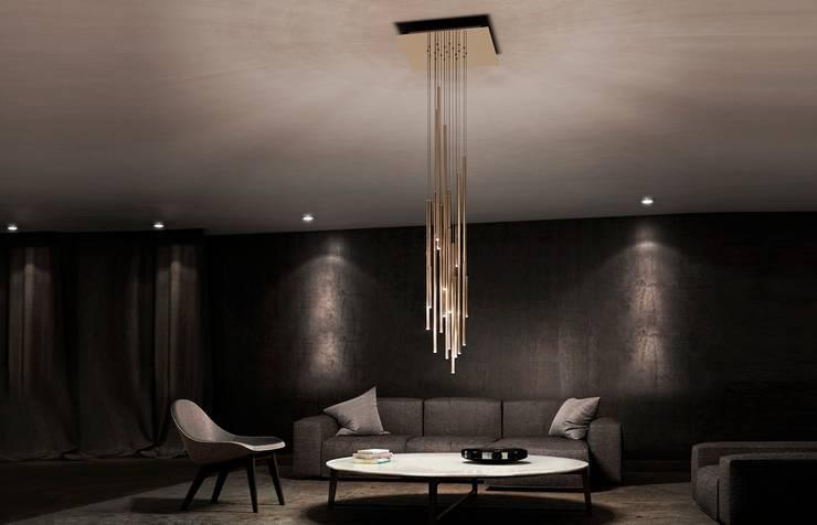 Salas/Recibidores de estilo  por BIROT A Lighting Store