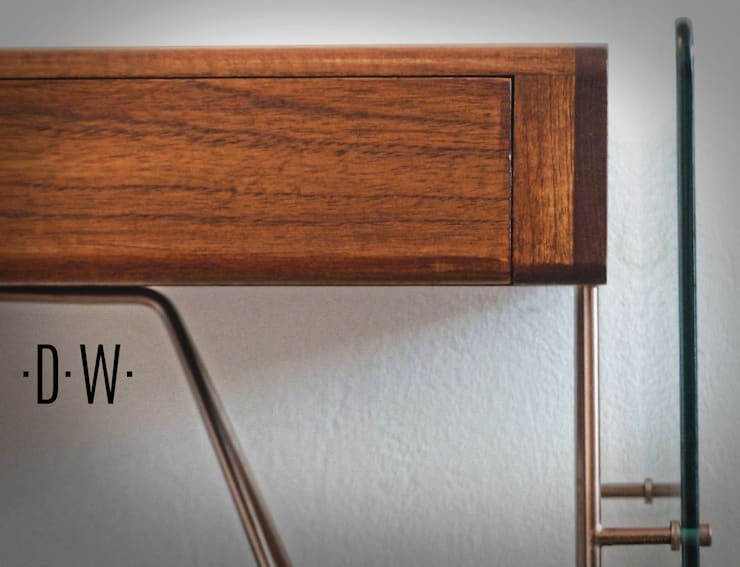 Escritorio DW: Estudio de estilo  por Fernando Borda Arquitectura de Interiores