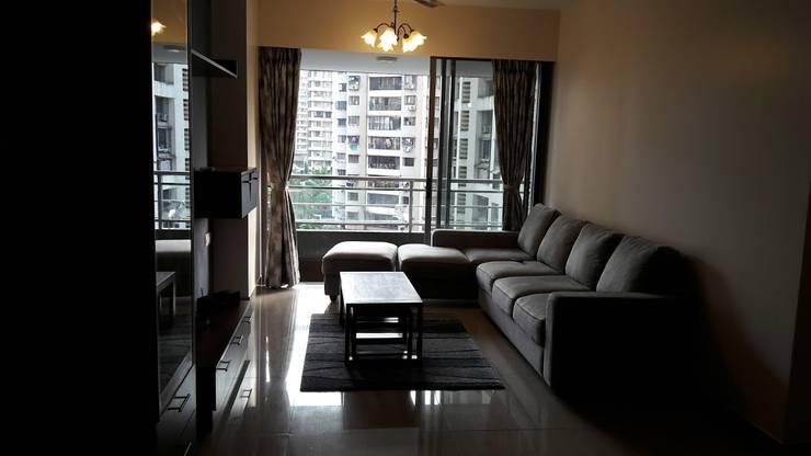 Ghatkopar residence: modern Living room by Rennovate Home Solutions pvt ltd