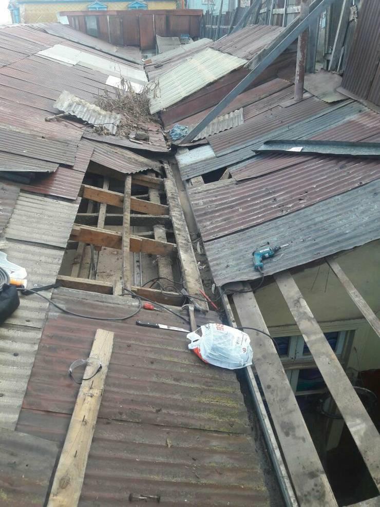 cambio de techo:  de estilo  por Servicios Express Valparaíso
