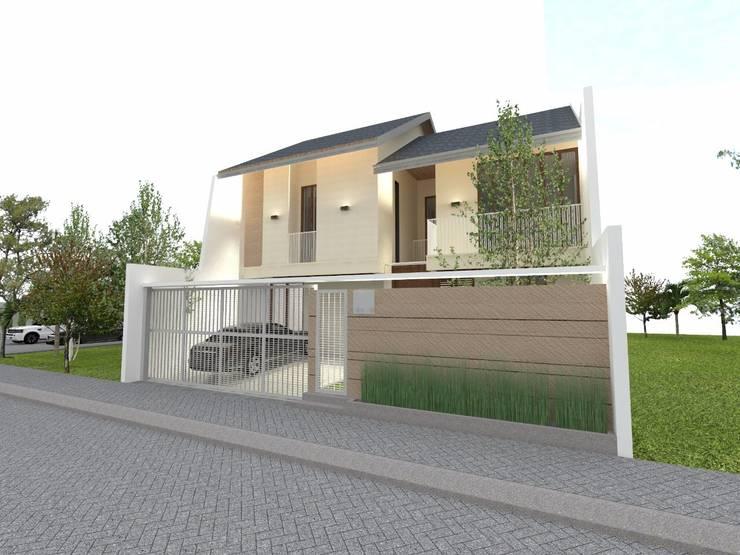 Rumah tinggal di kedoya:  Rumah by PT. Giat Solid Mandiri
