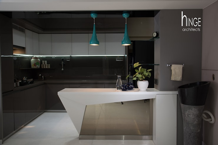 Interior:  Kitchen by Hinge architects ,Modern