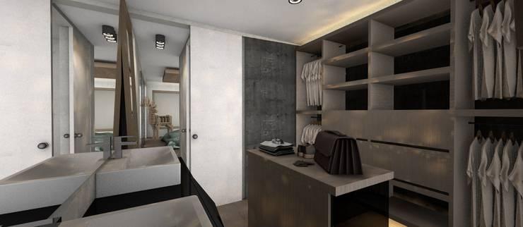 Vestidor: Walk in closet de estilo  por CB Luxus Inmobilien