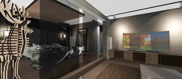 Dormitorio: Dormitorios de estilo  por CB Luxus Inmobilien